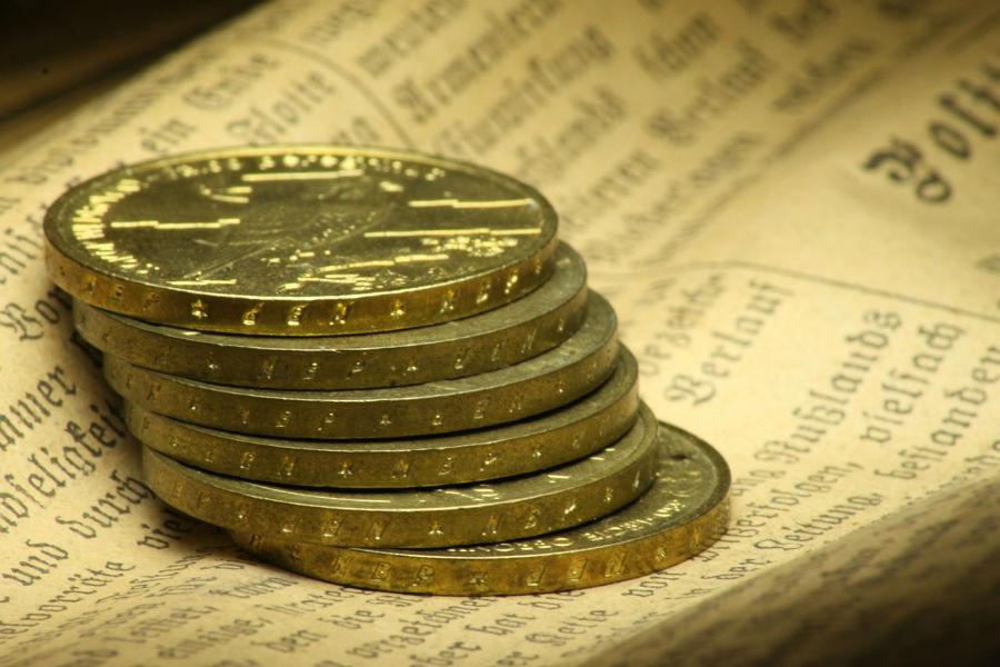 dinero patron oro monedas