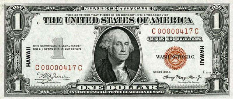 dolar usa eeuu un