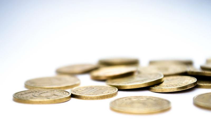 monedas oro dinero
