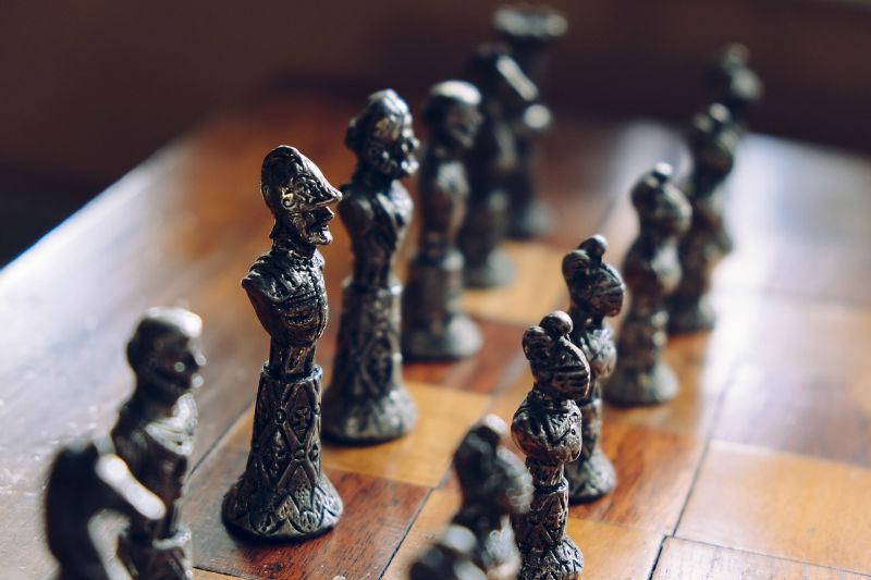 tablero ajedrez figuras