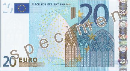 billete veinte euros