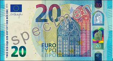 nuevo billete veinte euros