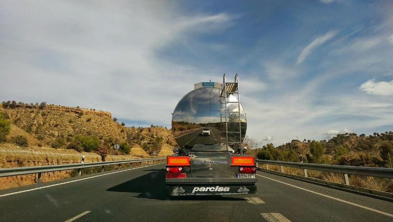 camión carretera parcisa