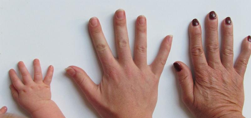manos dedos uñas