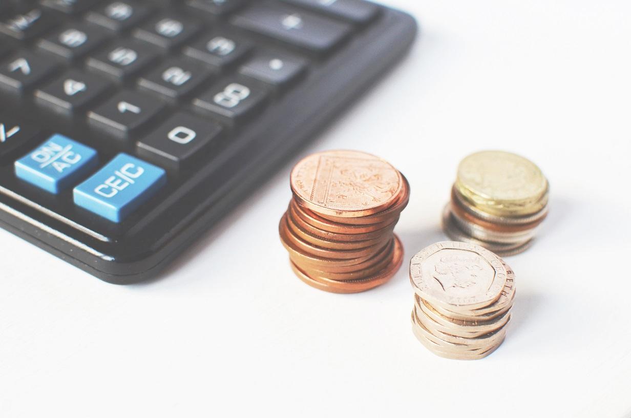 dinero calculadora monedas