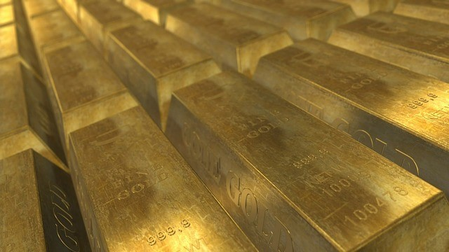 lingotes oro gold banco