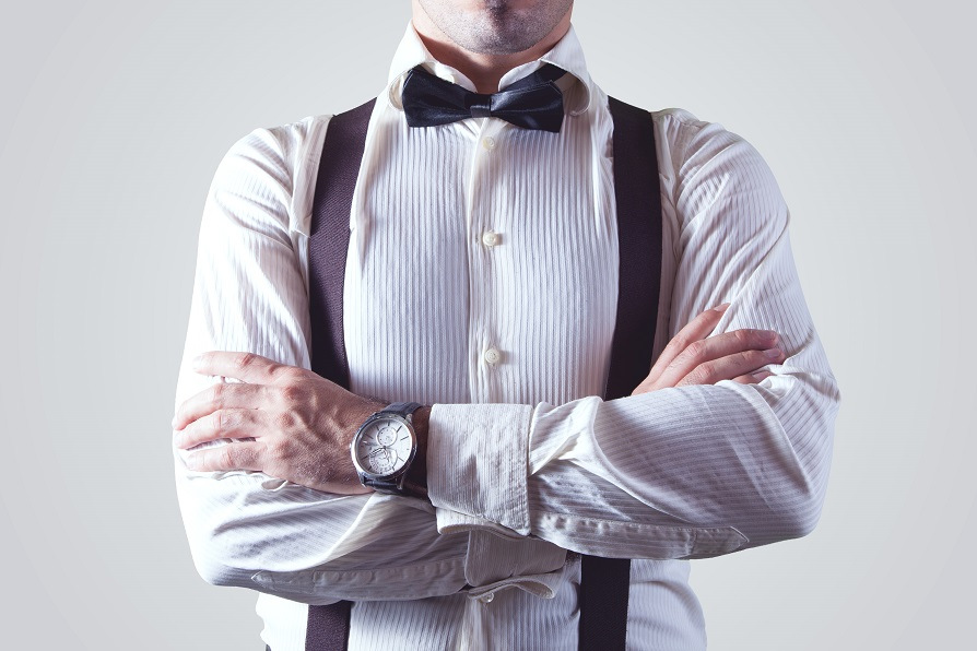 corbata camisa hombre reloj