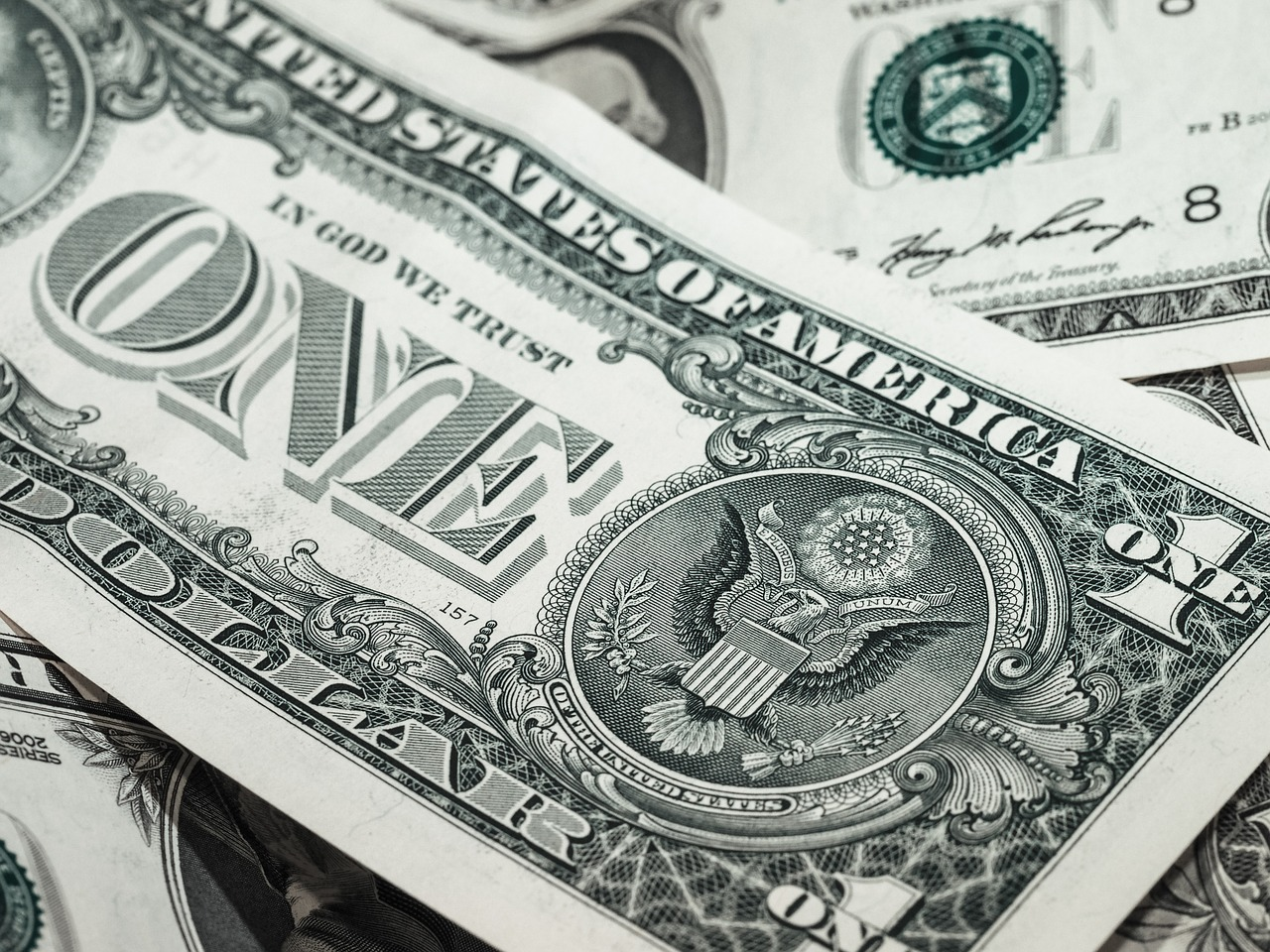 billete un dolar