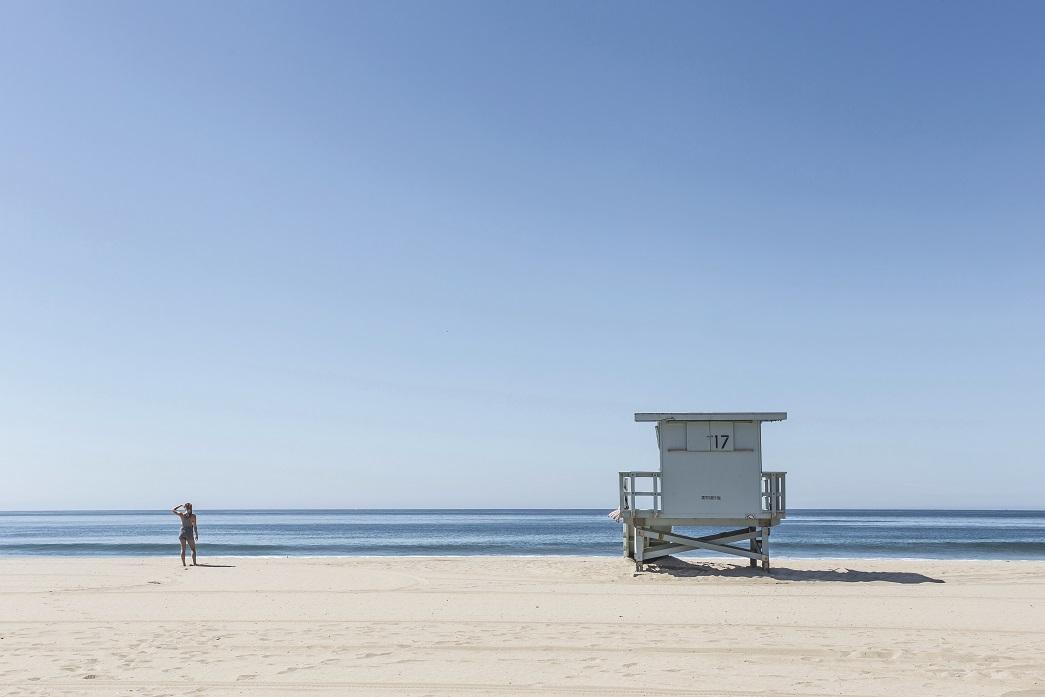 salvavidas playa vigilante