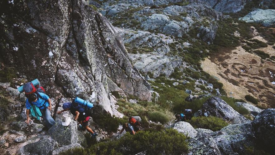 escalar montana personas