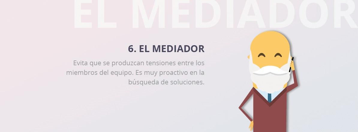 perfil mediador equipo trabajo
