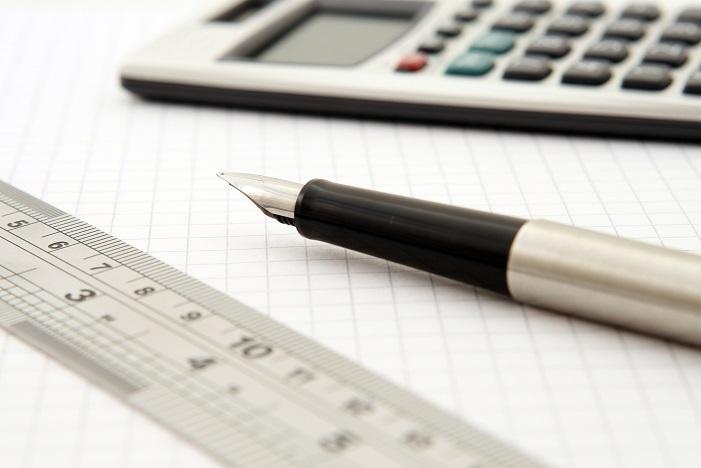 regla cuaderno calculadora