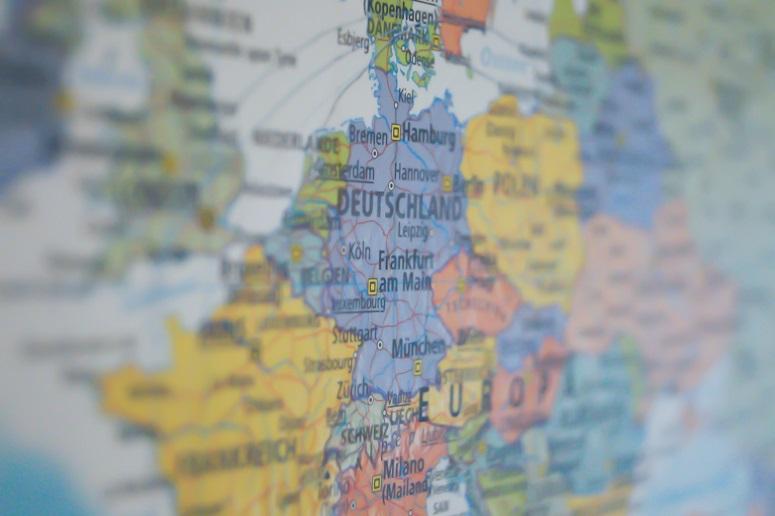 mapa europa color