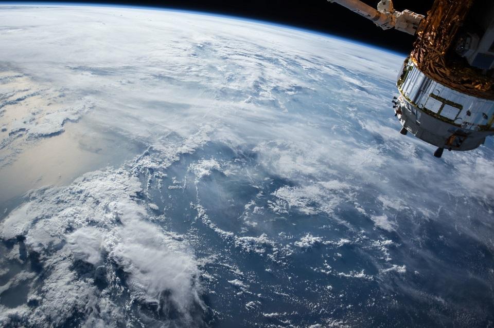 planeta tierra azul espacio
