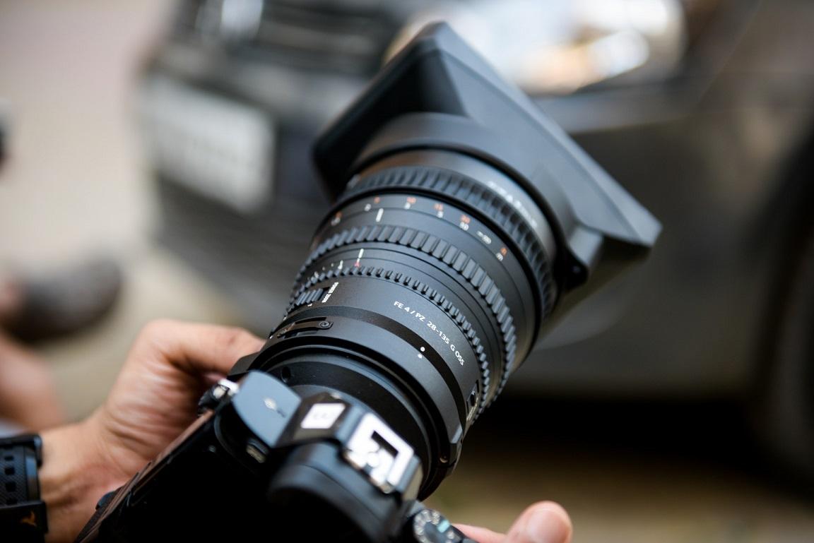 camara fotos objetivo