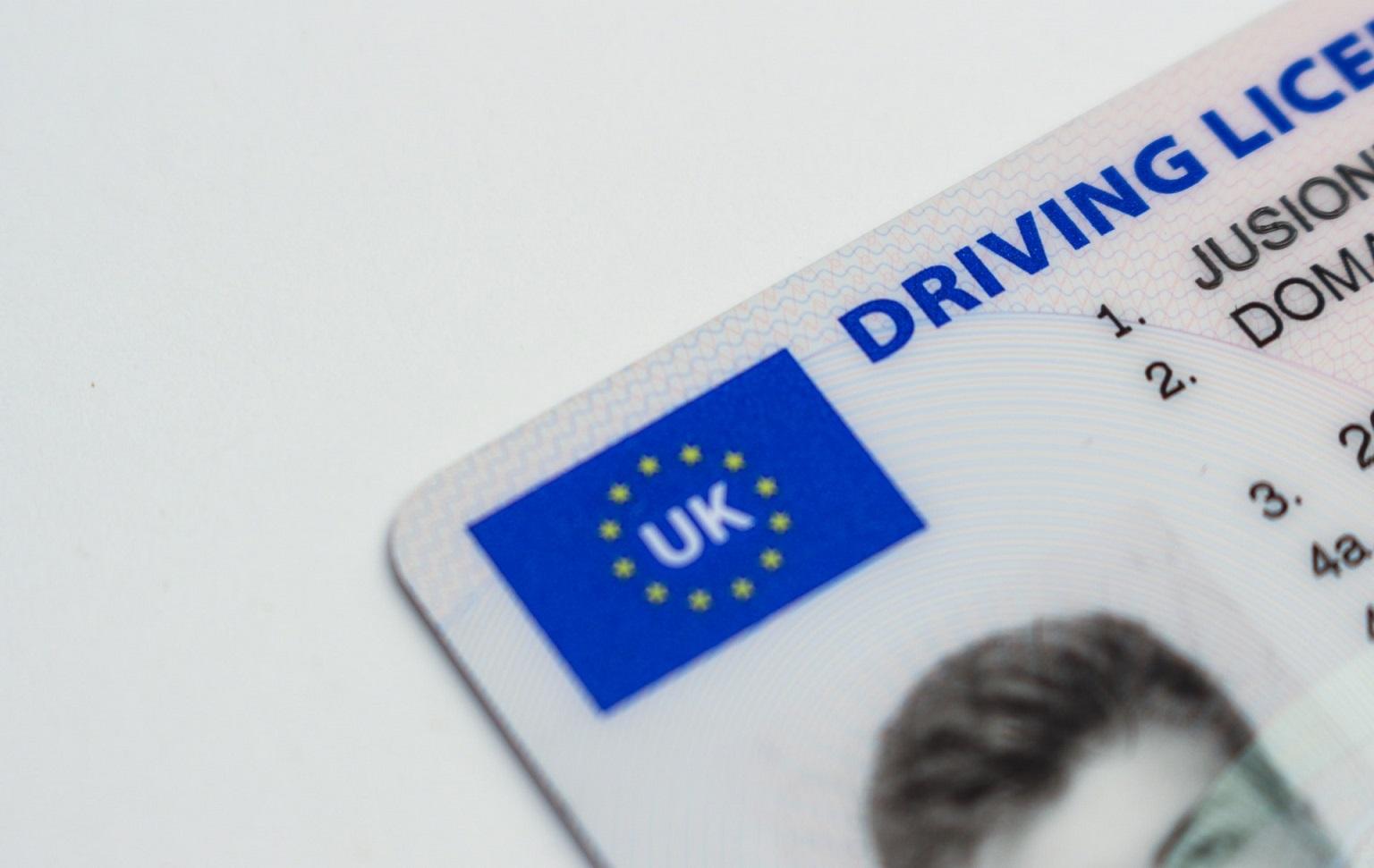 licencia conducir uk