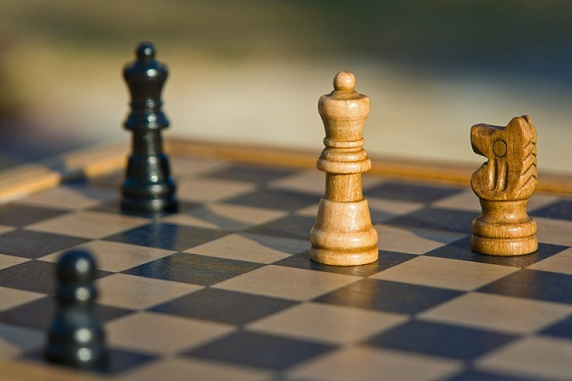 ajedrez piezas tablero