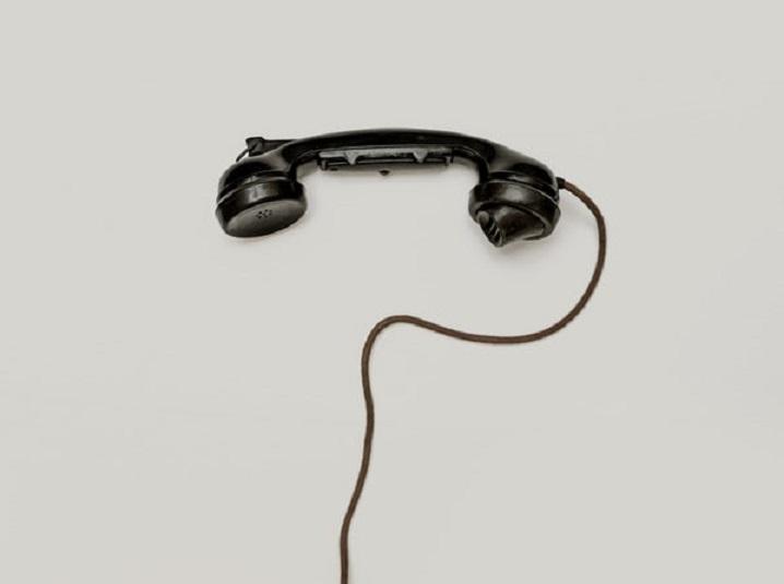 telefono cable vintage