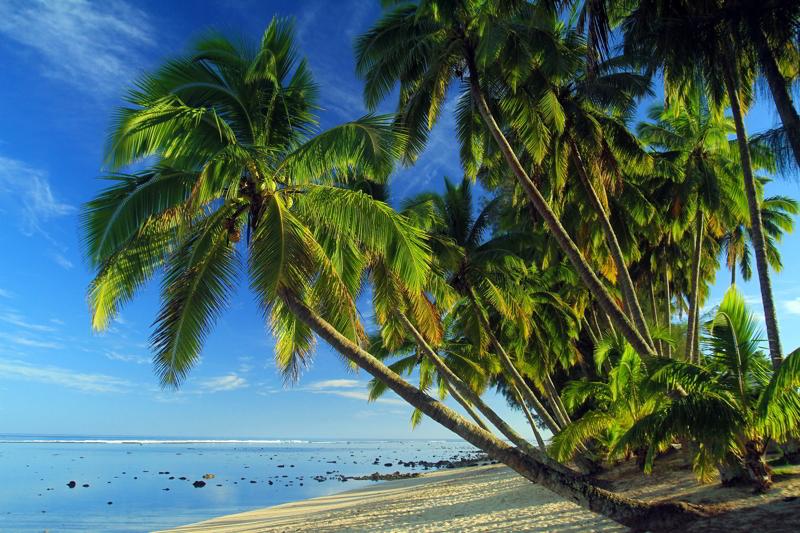 Playa isla de Cook