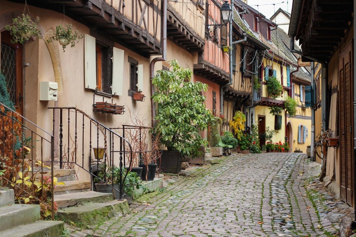 eguisheim pueblo calles