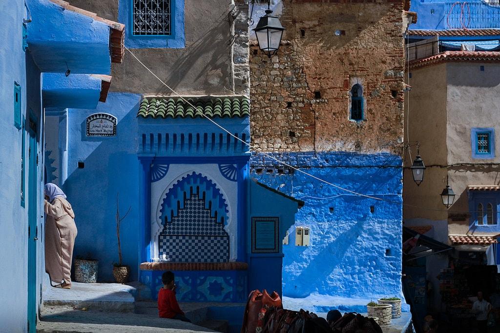 calles ciudad azul