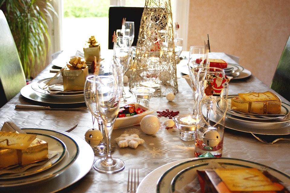 mesas navidad