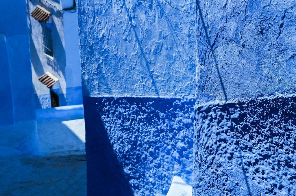 muros edificios chefchoauen
