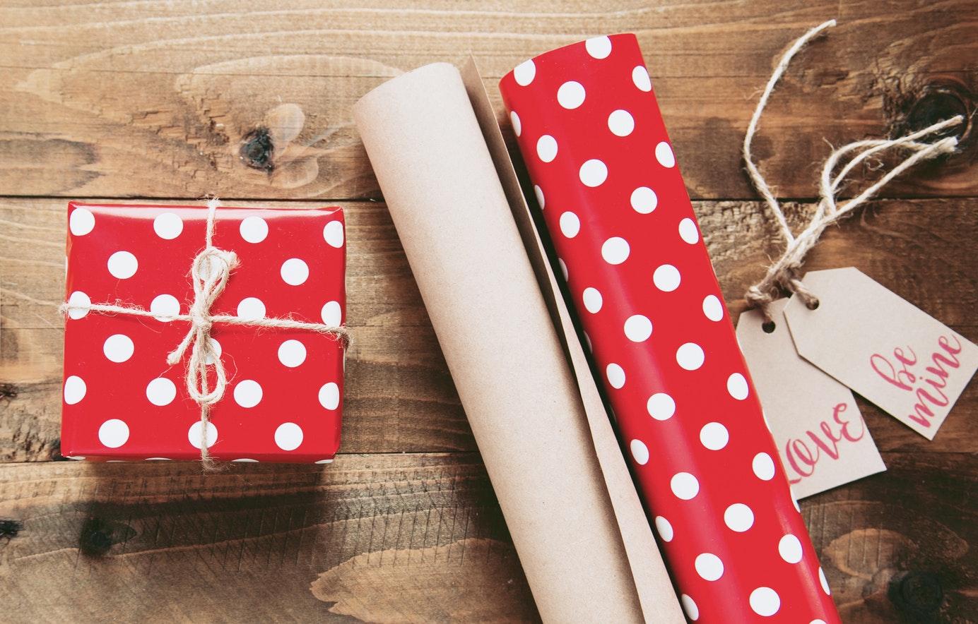 regalos envoltorio
